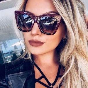 72198ebc8df1 Celine Accessories - Celine Catherine Havana gradient brown sunglasses